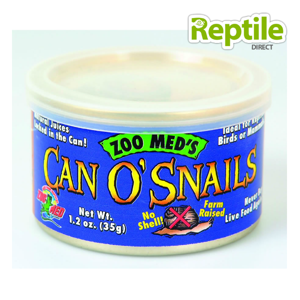 Zoo Med Can O' Snails 48g