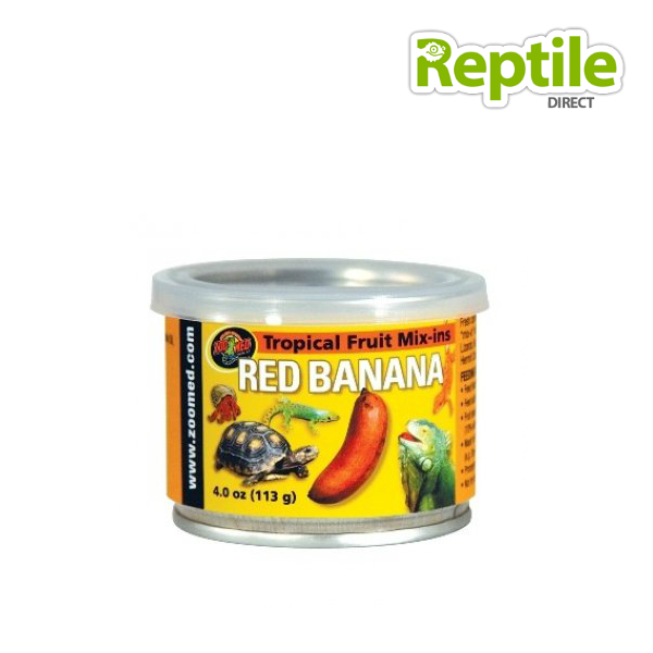 Zoo Med Tropical Fruit Mix-in Red Banana 113g