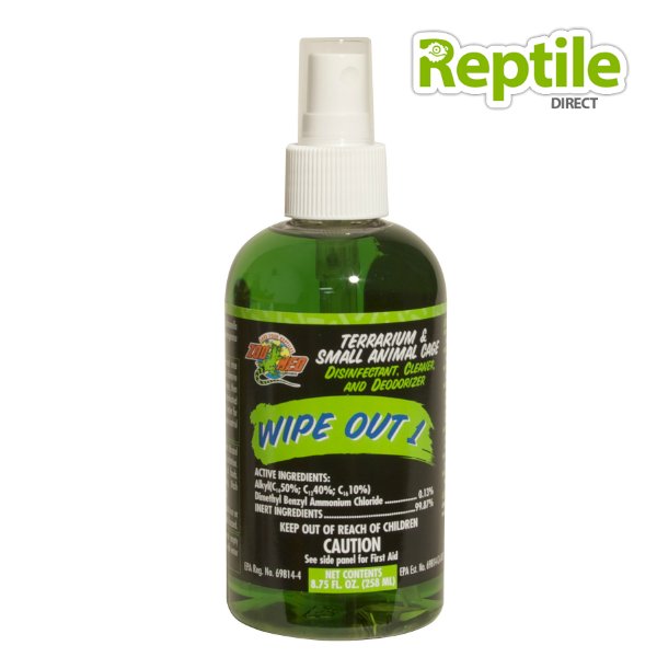 Zoo Med Wipe-Out Disinfectant