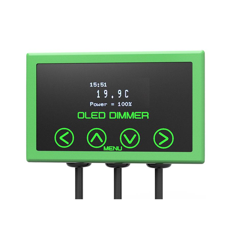 Microclimate OLED Dimmer Green 600W