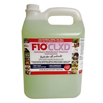 F10 CLXD Veterinary Disinfectant/Cleanser 5 Litre