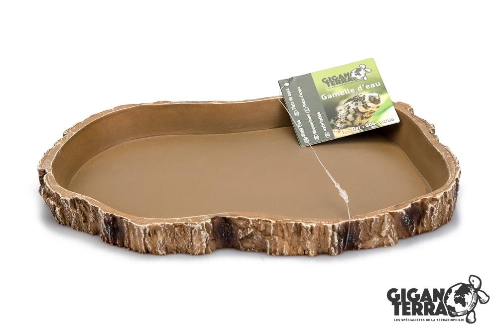 Food Dish Extra Large - Brown