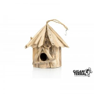 Wood Bird house Small