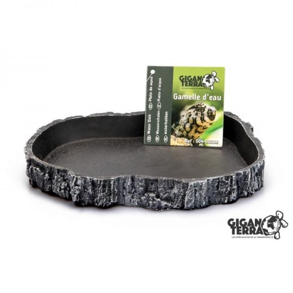GIGA - FOOD DISH L - Grey