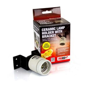 PR Ceramic Lamp Holder WITH Bracket, HPH010