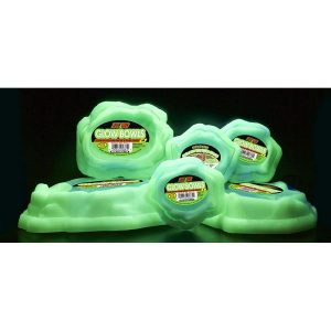 ZM Glow Bowls Water/Food Combo Dishes SML WFC-20G